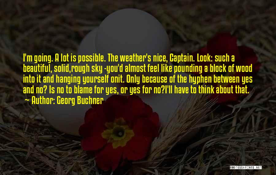 Look Into Yourself Quotes By Georg Buchner