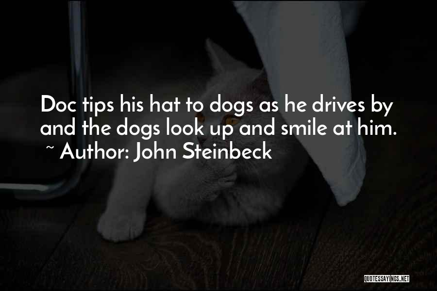 Look Up And Smile Quotes By John Steinbeck