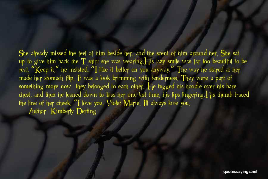 Look Up And Smile Quotes By Kimberly Derting