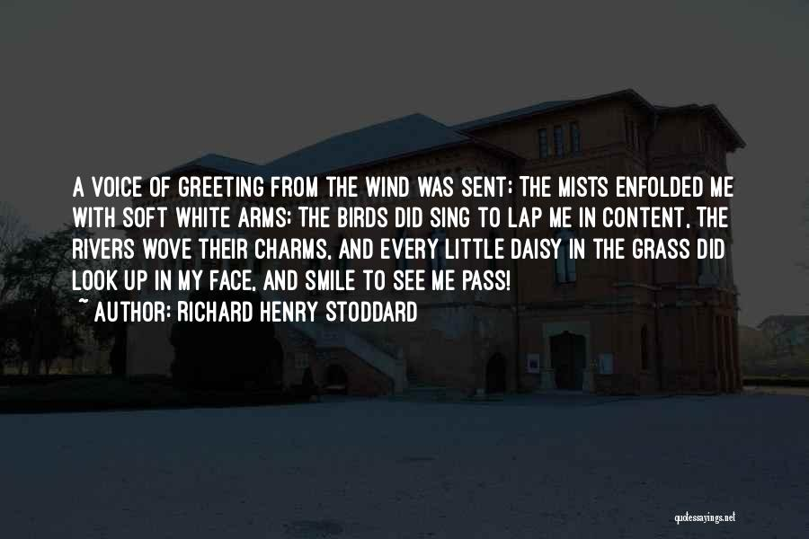 Look Up And Smile Quotes By Richard Henry Stoddard