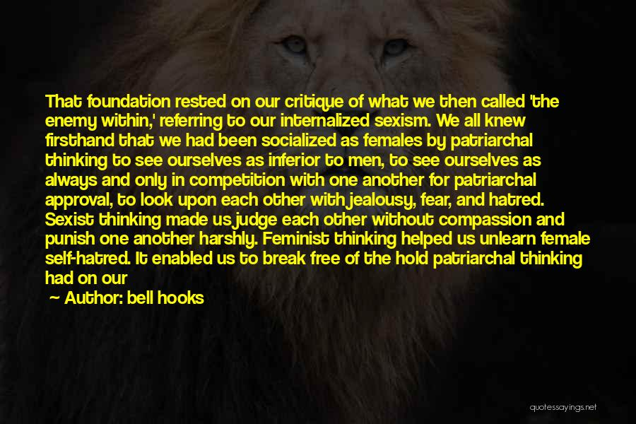 Look Within Quotes By Bell Hooks