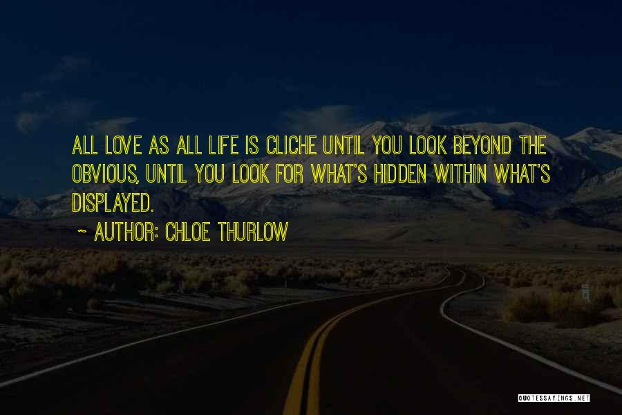 Look Within Quotes By Chloe Thurlow