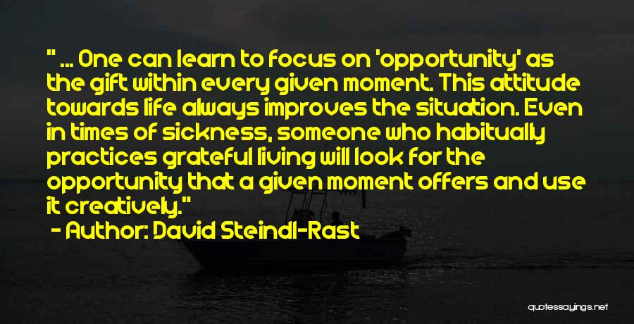 Look Within Quotes By David Steindl-Rast
