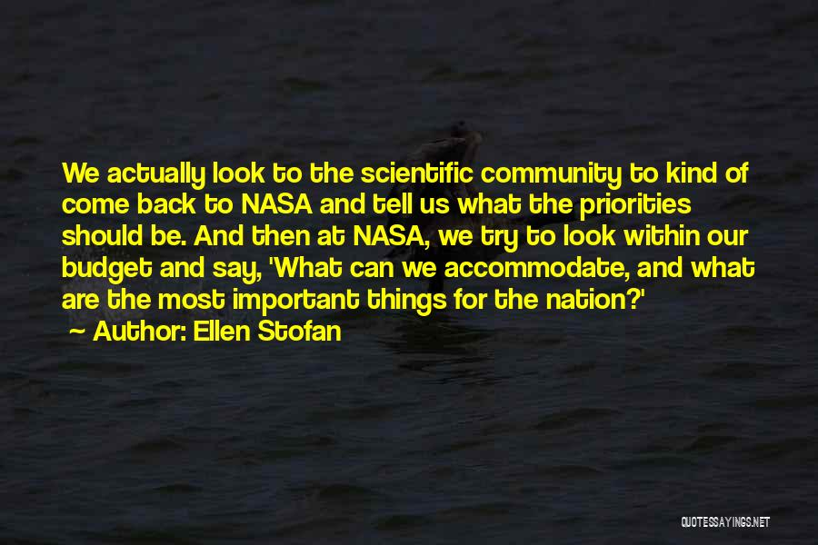 Look Within Quotes By Ellen Stofan