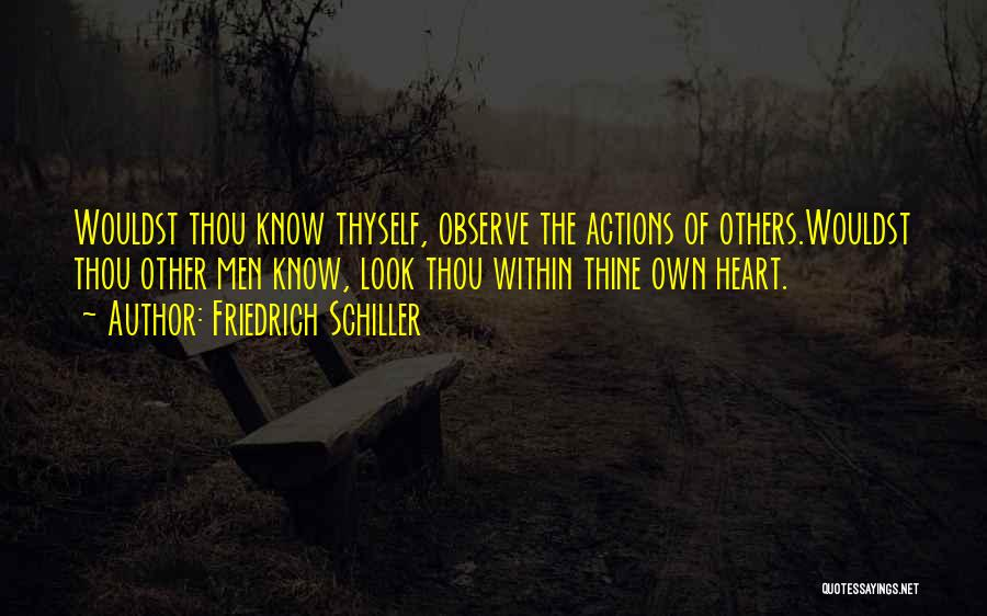Look Within Quotes By Friedrich Schiller