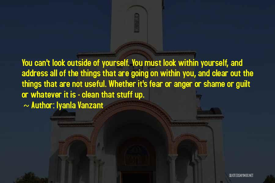 Look Within Quotes By Iyanla Vanzant
