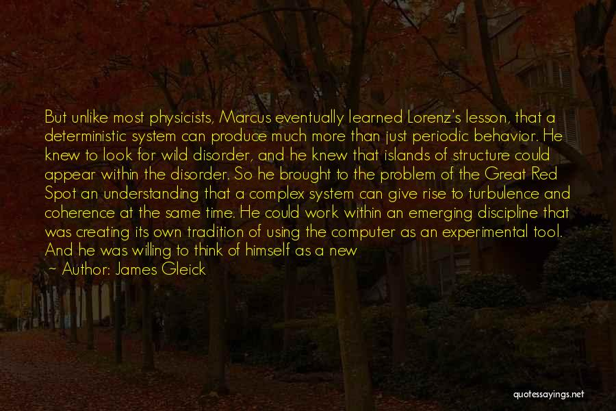 Look Within Quotes By James Gleick