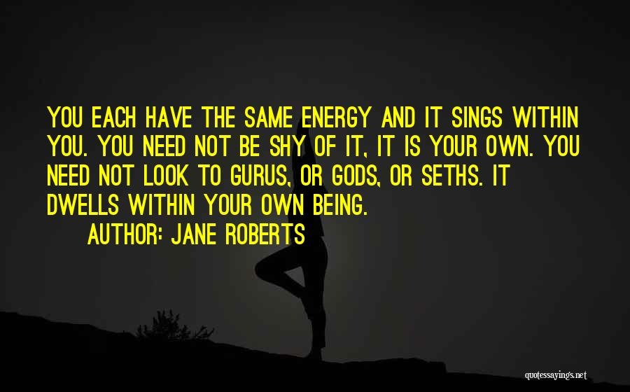 Look Within Quotes By Jane Roberts