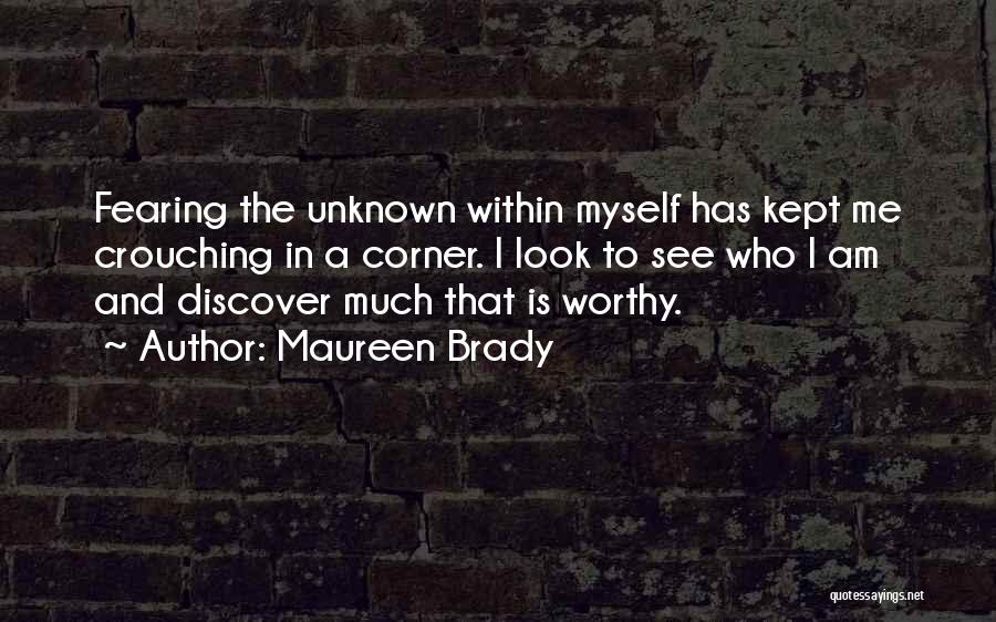 Look Within Quotes By Maureen Brady