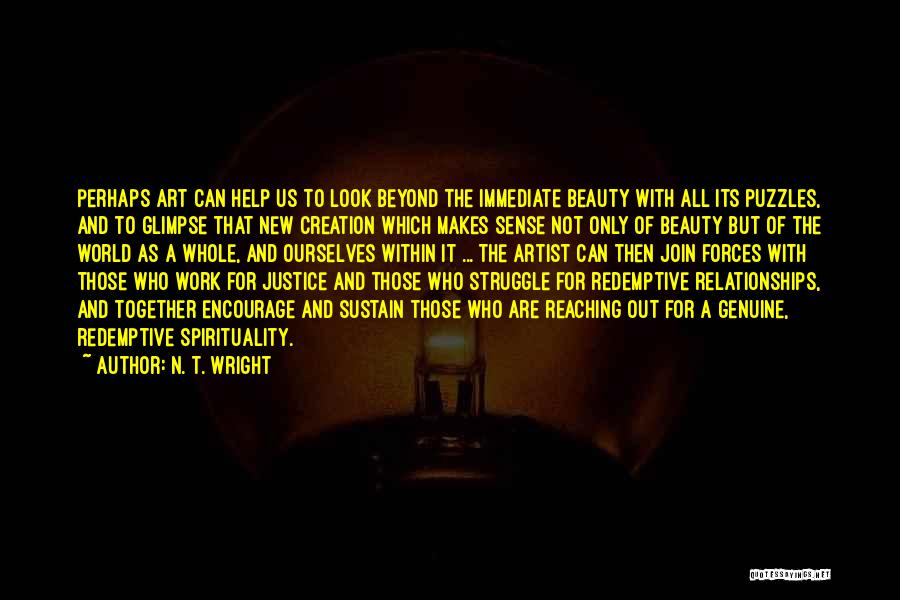 Look Within Quotes By N. T. Wright