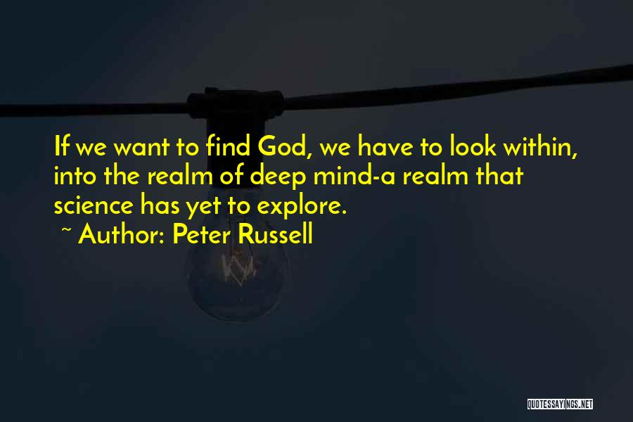 Look Within Quotes By Peter Russell