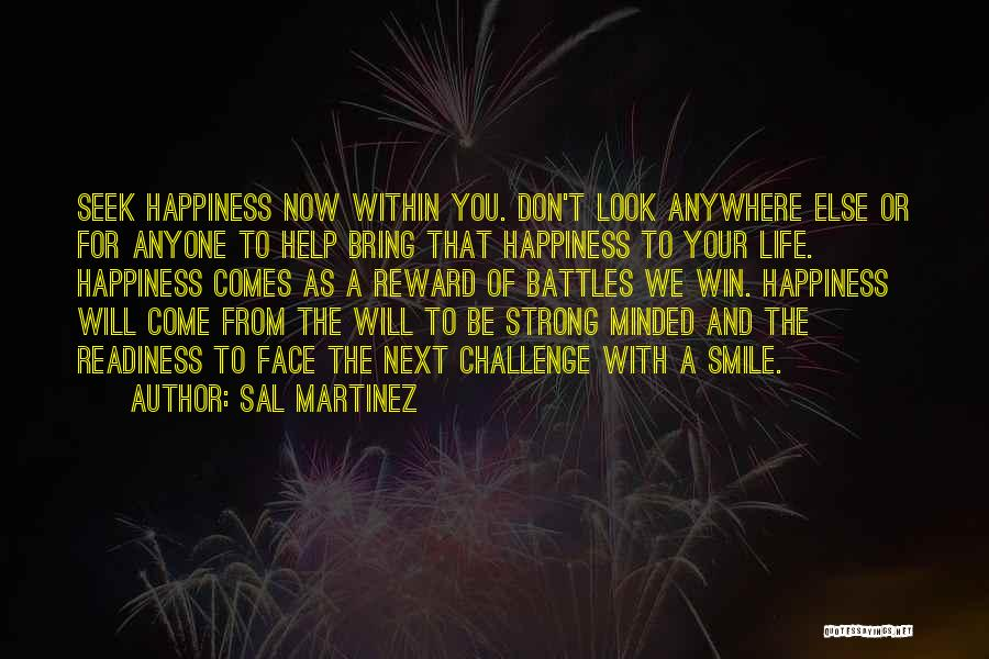Look Within Quotes By Sal Martinez