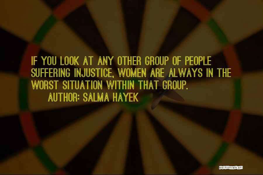 Look Within Quotes By Salma Hayek
