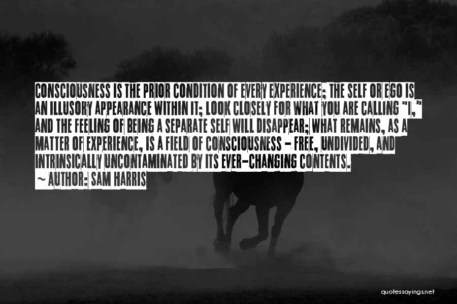 Look Within Quotes By Sam Harris