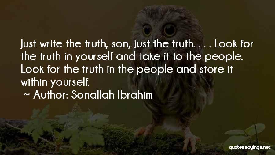 Look Within Quotes By Sonallah Ibrahim