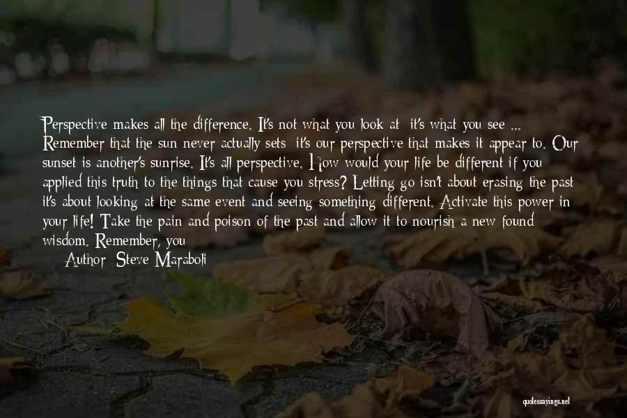 Looking At Life From A Different Perspective Quotes By Steve Maraboli