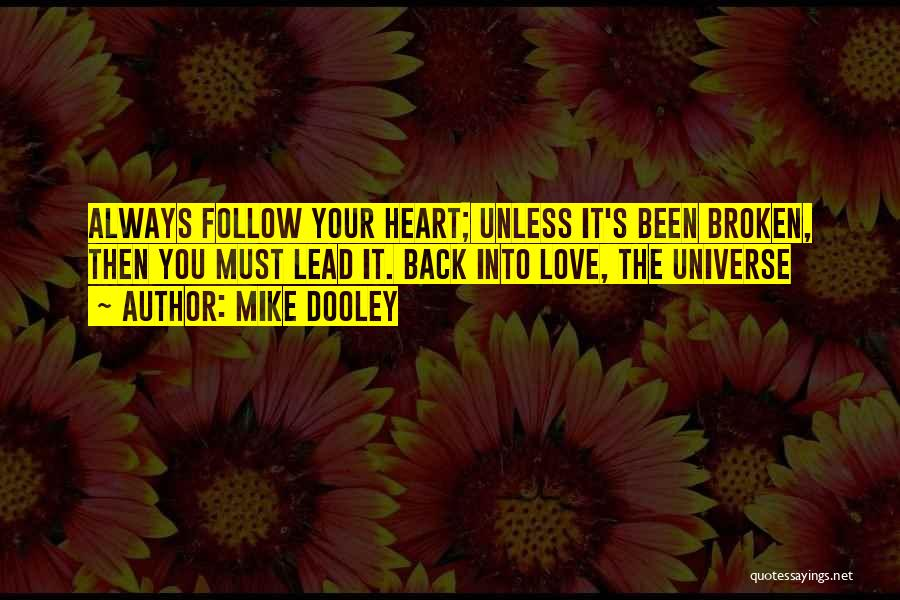 Looking Back Love Quotes By Mike Dooley
