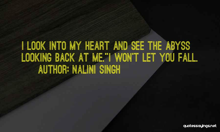 Looking Back Love Quotes By Nalini Singh