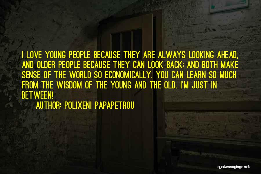 Looking Back Love Quotes By Polixeni Papapetrou
