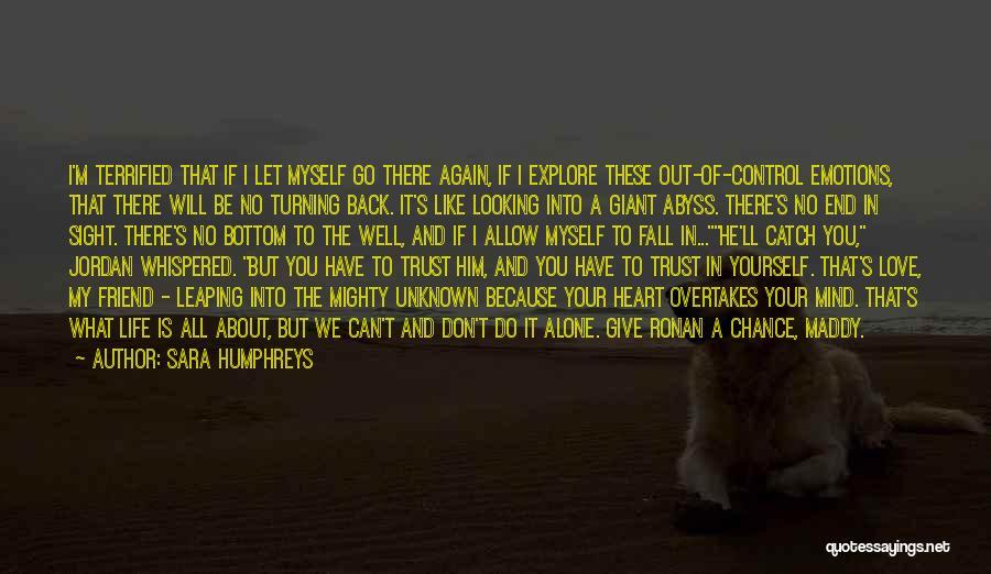 Looking Back Love Quotes By Sara Humphreys