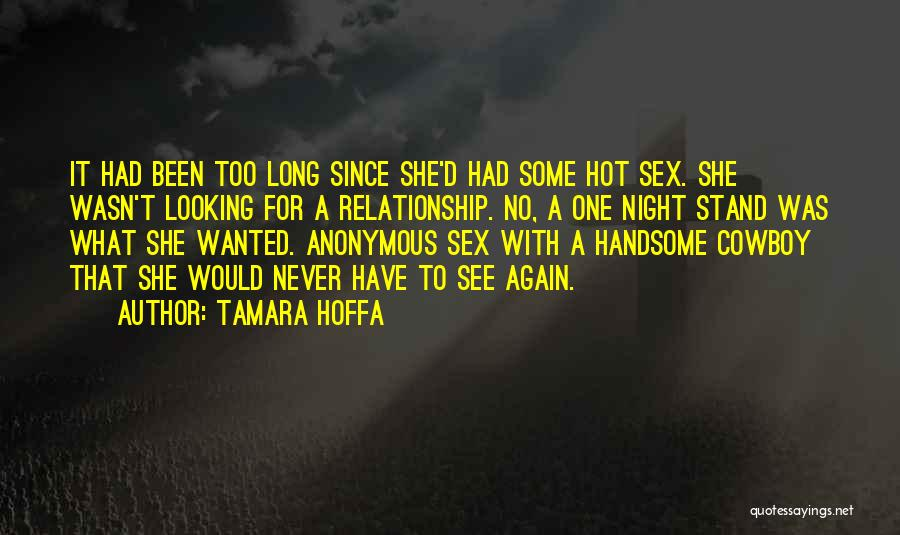 Looking For A Relationship Quotes By Tamara Hoffa