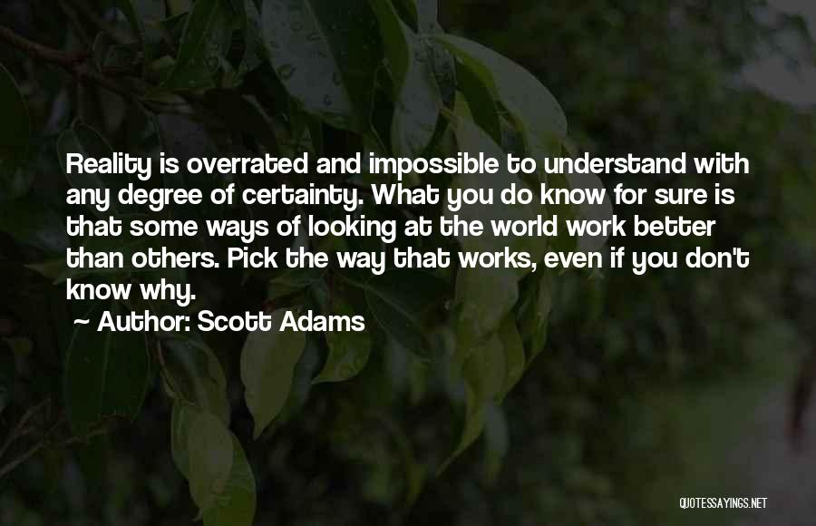 Looking For Someone Better Quotes By Scott Adams