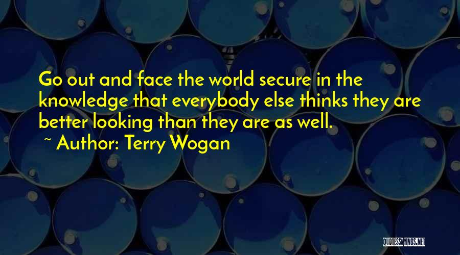 Looking For Someone Better Quotes By Terry Wogan