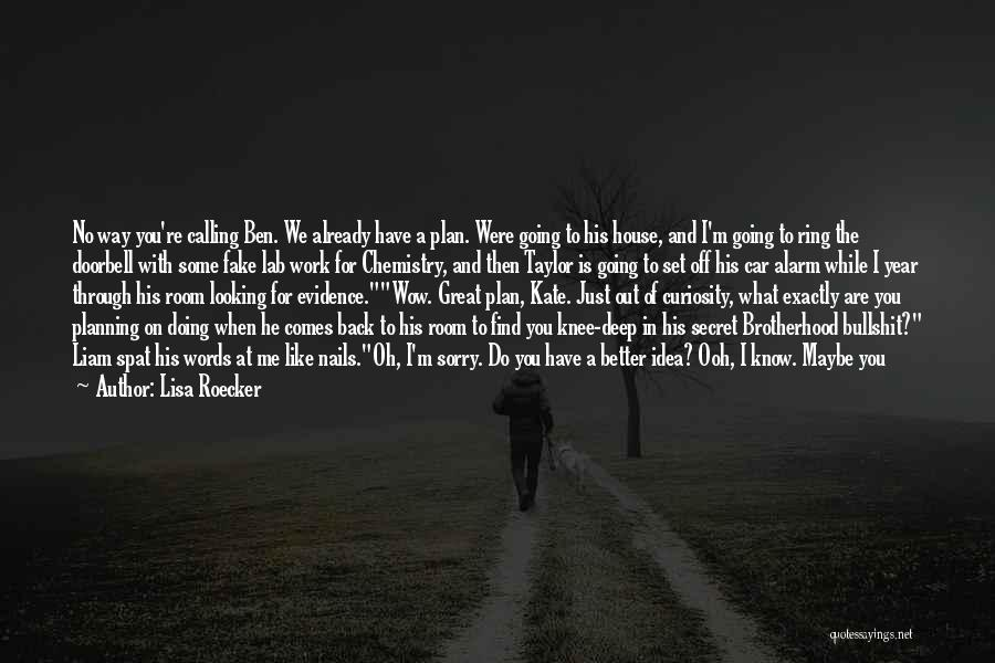 Looking For Something Quotes By Lisa Roecker