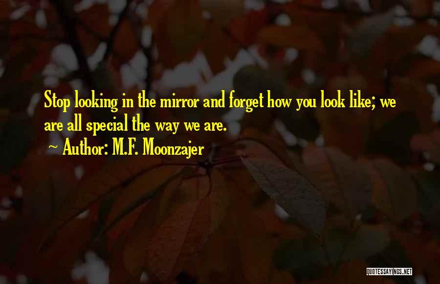 Looking For The Special Someone Quotes By M.F. Moonzajer