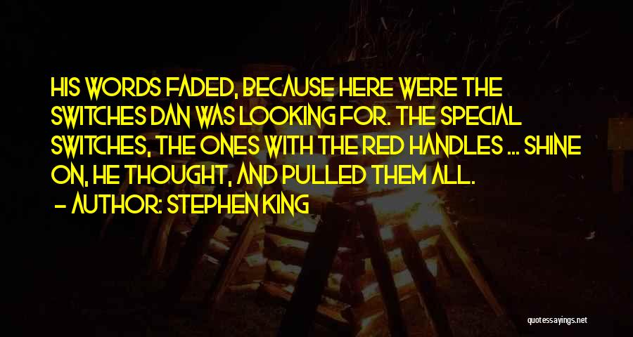 Looking For The Special Someone Quotes By Stephen King