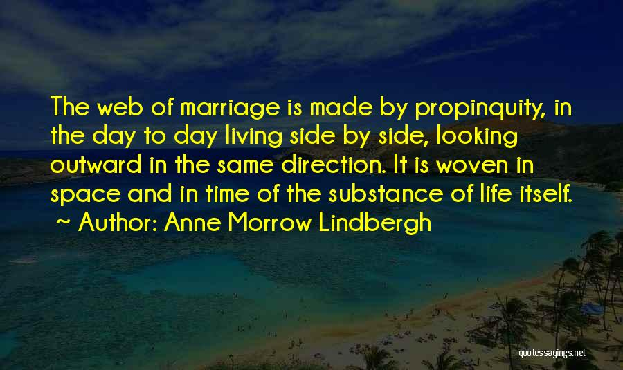 Looking In The Same Direction Quotes By Anne Morrow Lindbergh