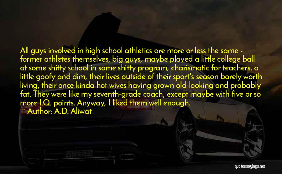 Looking Outside Quotes By A.D. Aliwat