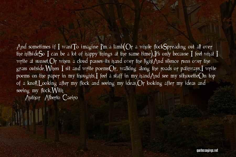 Looking Outside Quotes By Alberto Caeiro