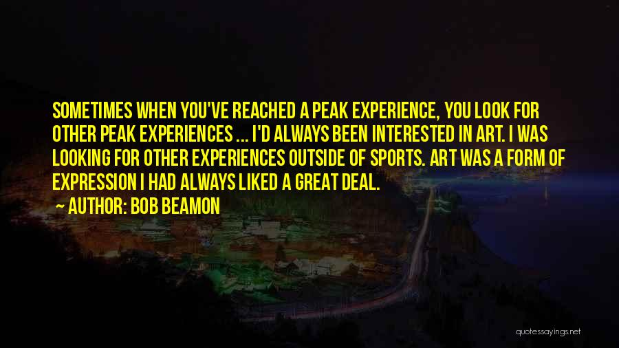 Looking Outside Quotes By Bob Beamon