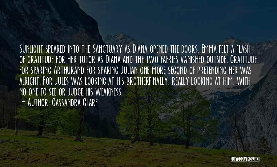 Looking Outside Quotes By Cassandra Clare