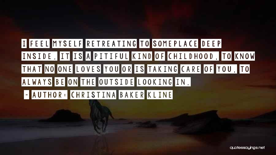 Looking Outside Quotes By Christina Baker Kline