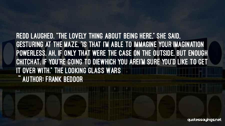 Looking Outside Quotes By Frank Beddor