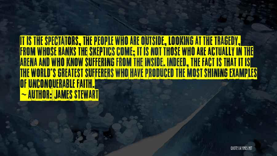 Looking Outside Quotes By James Stewart
