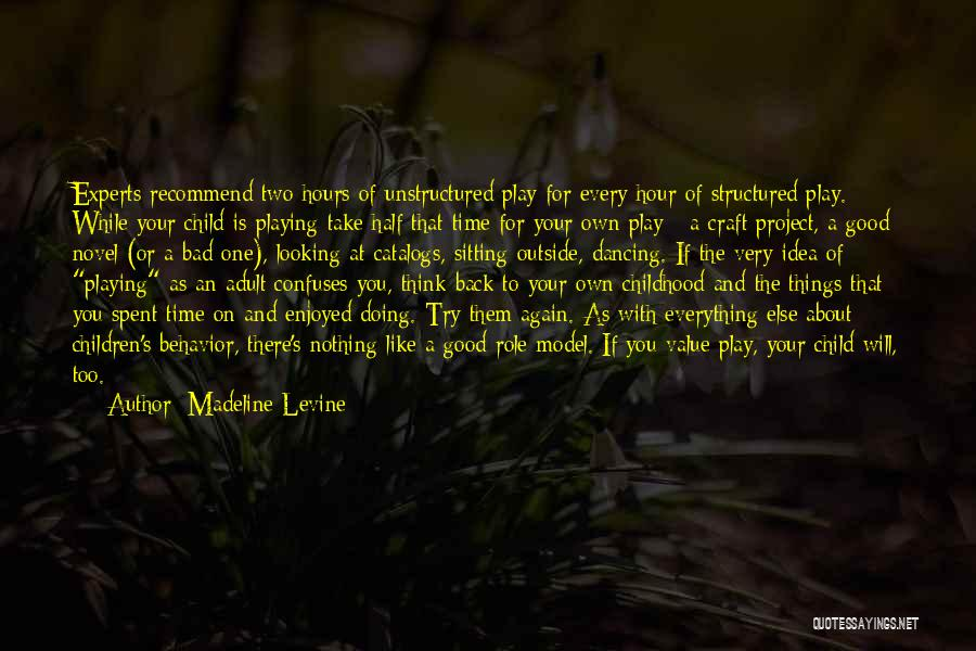 Looking Outside Quotes By Madeline Levine