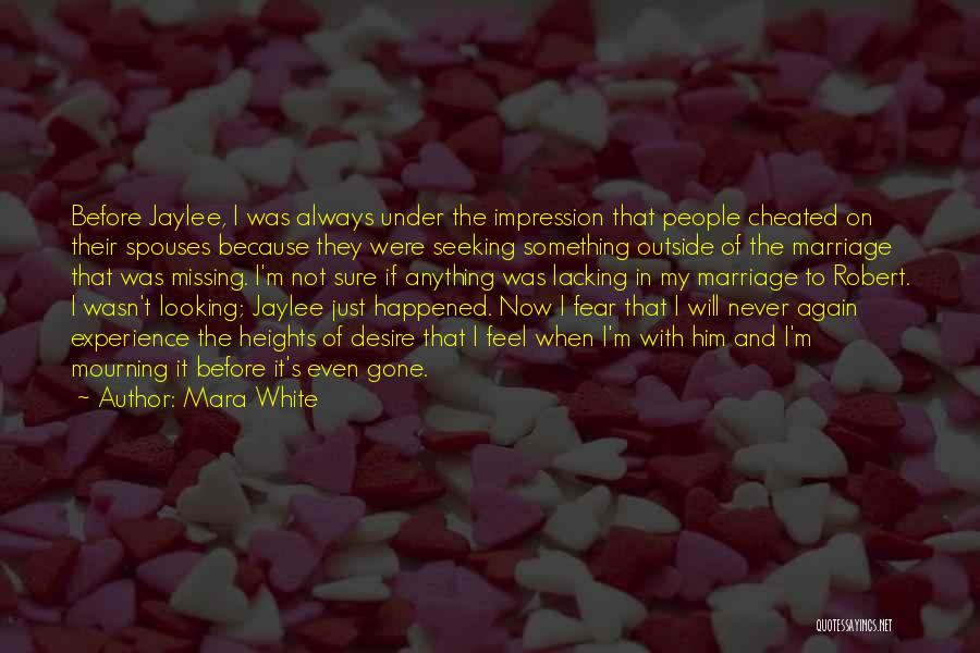 Looking Outside Quotes By Mara White