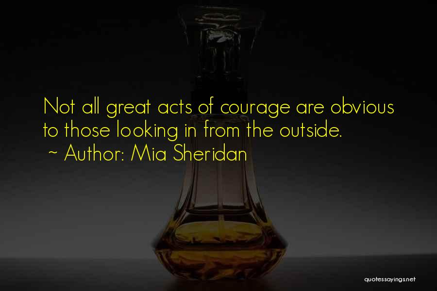 Looking Outside Quotes By Mia Sheridan