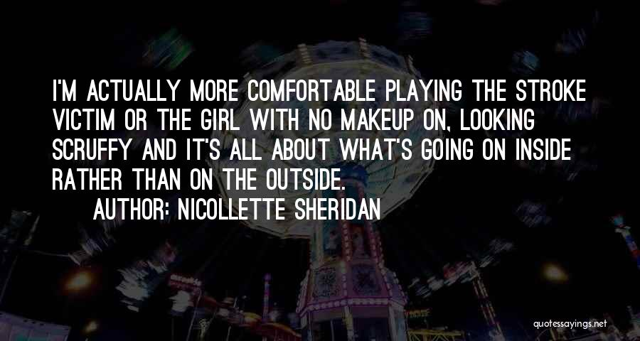 Looking Outside Quotes By Nicollette Sheridan