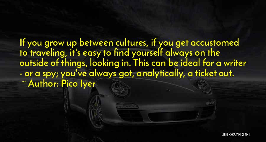 Looking Outside Quotes By Pico Iyer