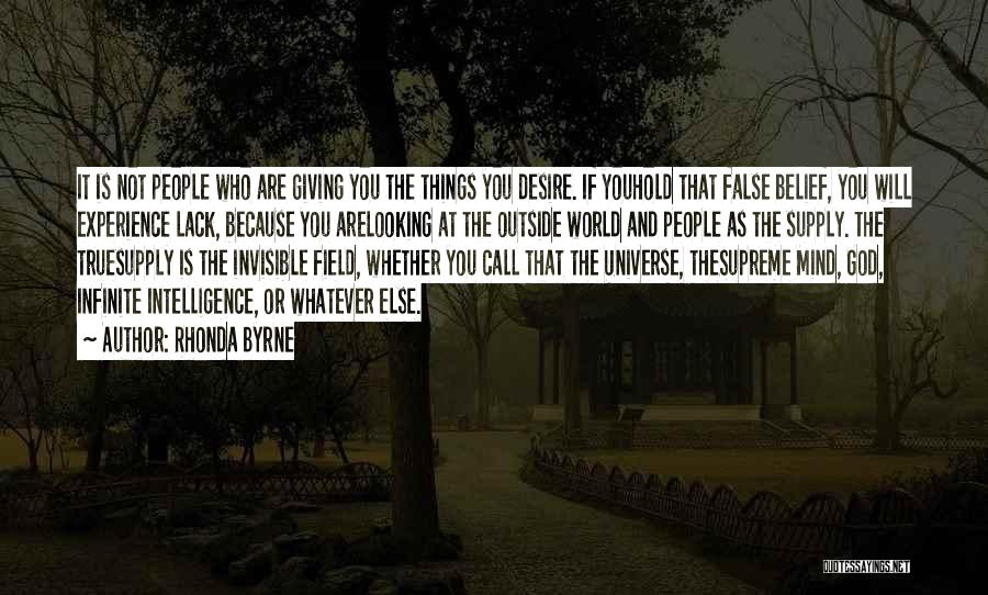Looking Outside Quotes By Rhonda Byrne