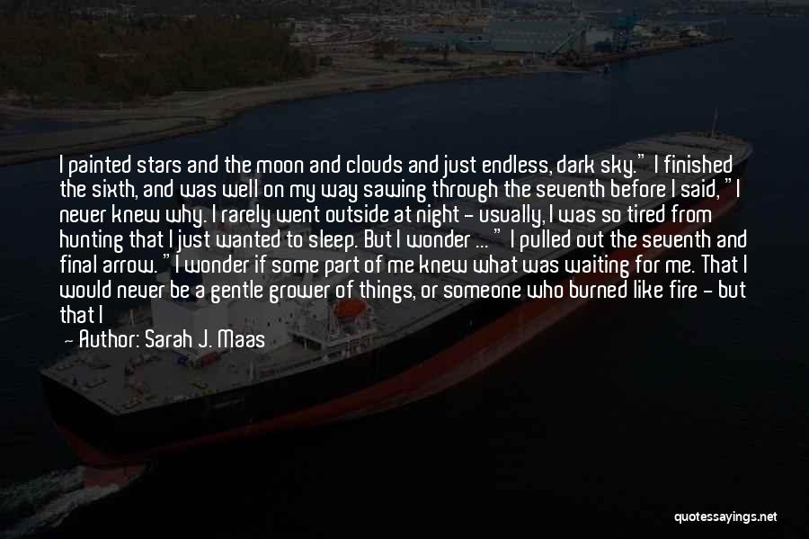 Looking Outside Quotes By Sarah J. Maas