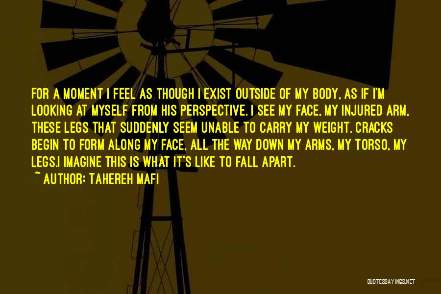 Looking Outside Quotes By Tahereh Mafi
