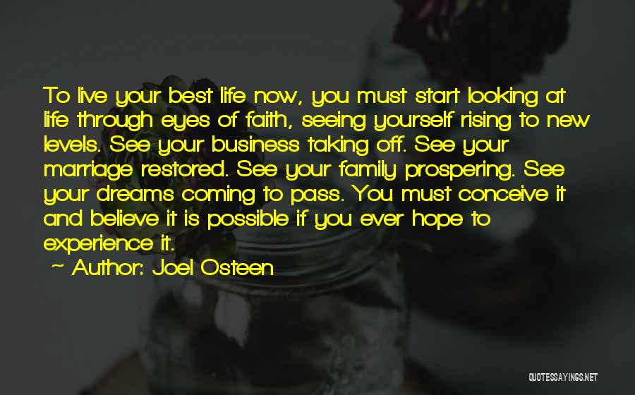 Looking Through Your Eyes Quotes By Joel Osteen