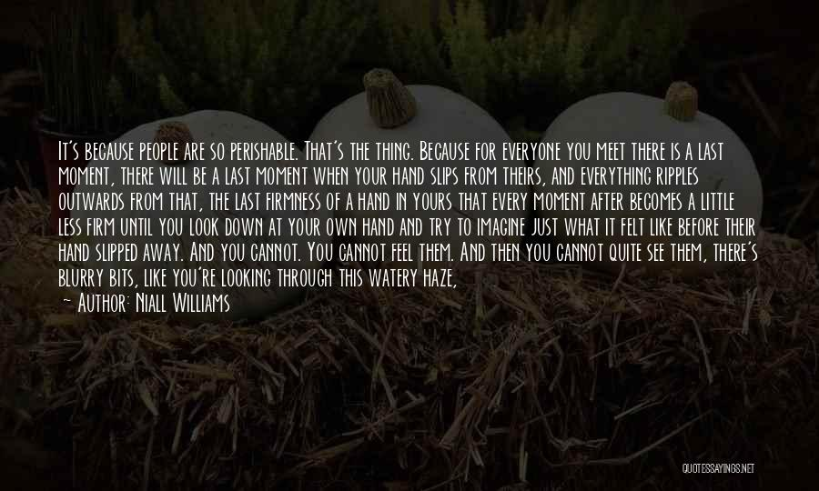 Looking Through Your Eyes Quotes By Niall Williams