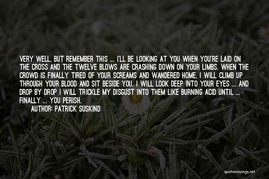 Looking Through Your Eyes Quotes By Patrick Suskind