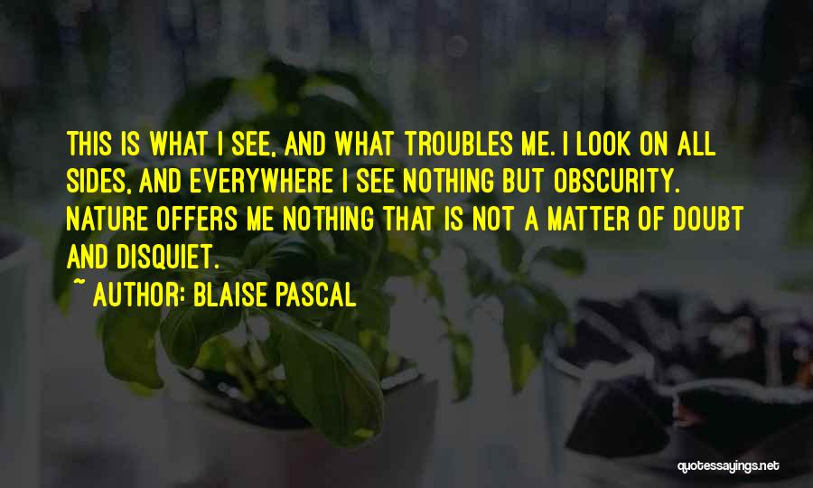 Looks Does Matter Quotes By Blaise Pascal
